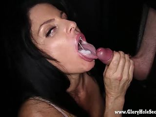 Are model samantha sterlyng gloryhole bj cum what
