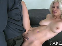 Explosive pleasuring from wild awesome chick