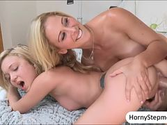 Cherie Deville and Dakota Skye threesome with nasty dude
