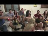 Slutty Sorority Reality Room Orgy in College Rules