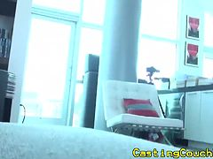 Casting couch x amateur drilled hard