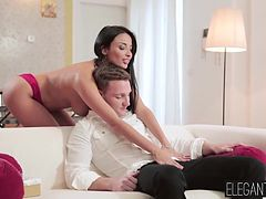 Anissa Kate was ready to take the entirety of his thick cock